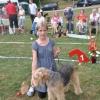 Barn med hund 1